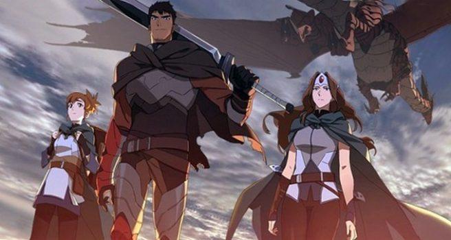 DOTA: Dragon's Blood — мультфильм Dota 2